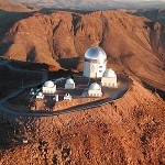 Aerial view of the observatory