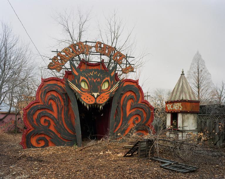 Abandoned Theater Bizarre Detroit