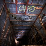 Peering down the 185-foot missile chute
