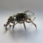 Creature made from odd bits and parts