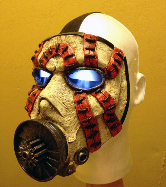 Borderlands 2 Psycho mask