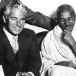 Charlie Chaplin and Gandhi