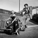 Marilyn Monroe and Sammy Davis Jr.