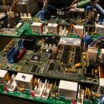 Computer controls inside the Mantis hexapod robotic machine
