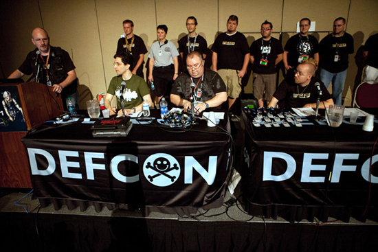 Def Con security conference guest panel