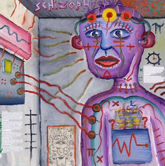 Artistic view of how the world feels like with schizophrenia journal.pmed .0020146.g001 thumb