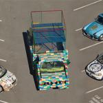 Car made of legos
