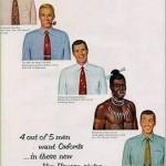Van Heusen is no stranger to racist and sexist advertisements