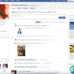 """2008 - the """"new Facebook"""" with The Wall"""