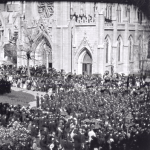 Frame 2 of 8 - Lincoln funeral procession