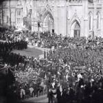 Frame 1 of 8 - Lincoln funeral procession