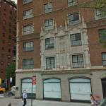 Location of Civil War photographer Matthew Brady's studio (across the street from the church)