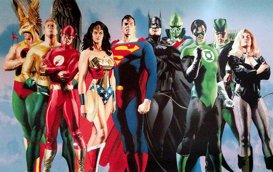 Comic book characters (comic book superheroes and comic book villains) and their real names and true identities