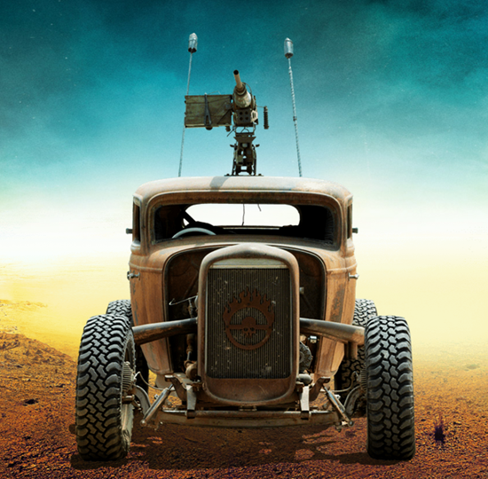 Elvis from Mad Max: Fury Road movie