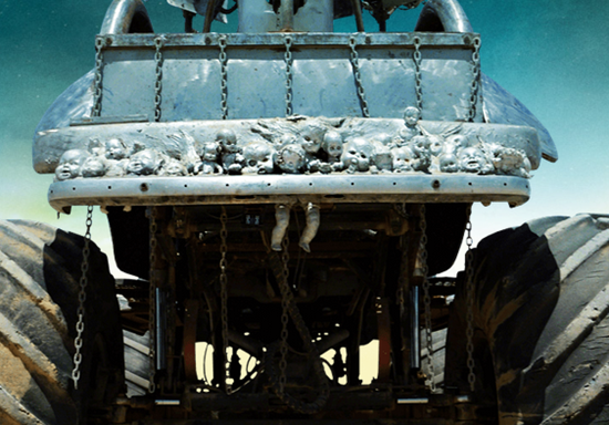 Baby doll heads on Rictus Erectus's Bigfoot car from Mad Max: Fury Road