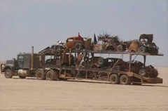 Check out all of the awesome monstrous vehicles from Mad Max: Fury Road!