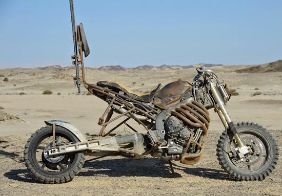 Rock Riders' Yamaha Motorcycles from Mad Max: Fury Road movie