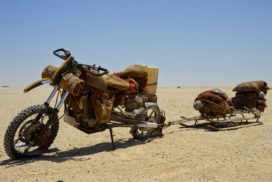 The Vuvalini's Touring motorcycles from Mad Max Fury Road movie