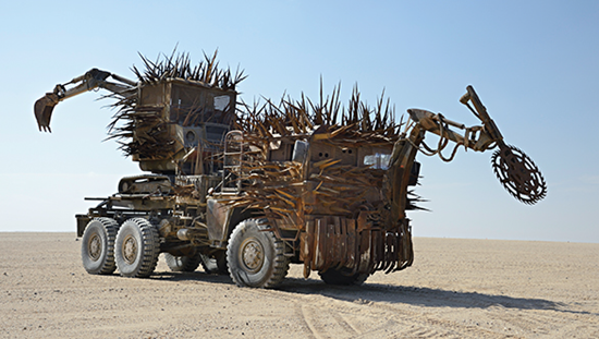 The Buzzard Excavator from Mad Max Fury Road
