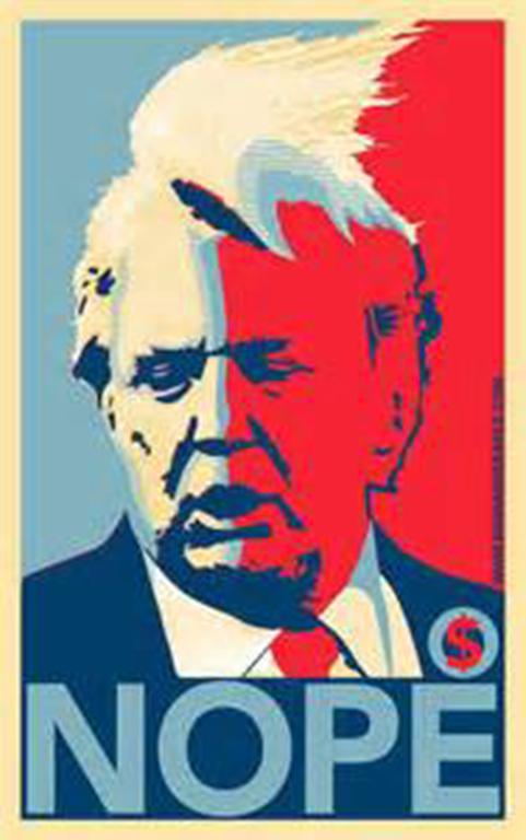 """Trump """"Nope"""" poster"""