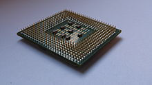 PGA (or PPGA) - Pin grid array package