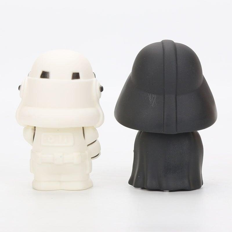 9cm Star Wars Toys Master Yoda Darth Vader Stormtrooper Action Figure The Force Awakens Jedi Yoda 1