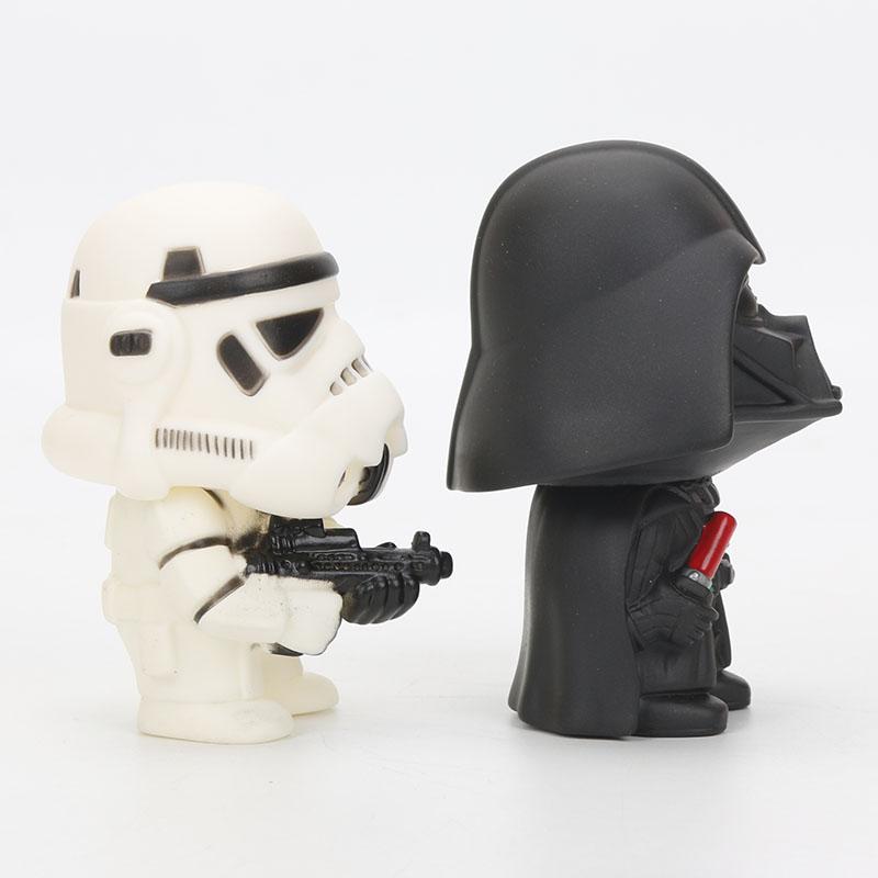 9cm Star Wars Toys Master Yoda Darth Vader Stormtrooper Action Figure The Force Awakens Jedi Yoda 2