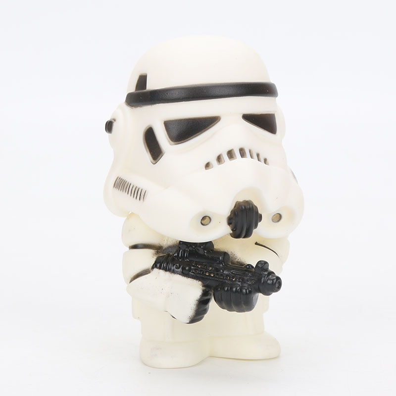 9cm Star Wars Toys Master Yoda Darth Vader Stormtrooper Action Figure The Force Awakens Jedi Yoda 3