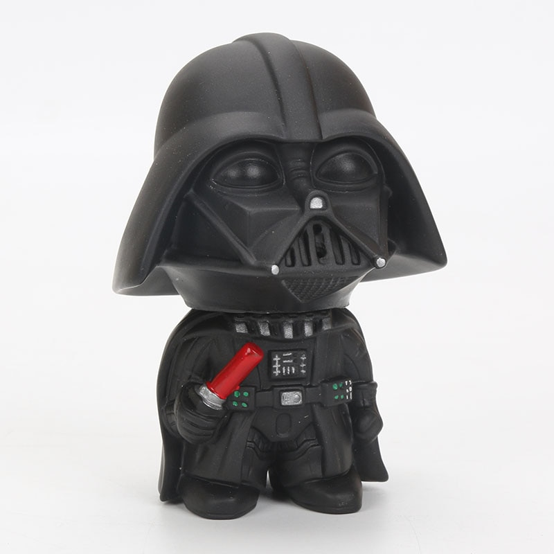 9cm Star Wars Toys Master Yoda Darth Vader Stormtrooper Action Figure The Force Awakens Jedi Yoda 4