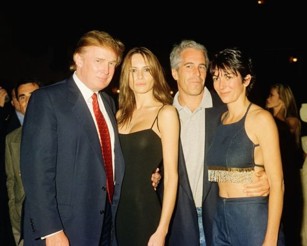 donald and melania trump jeffrey epstein ghislaine maxwell 1590663634