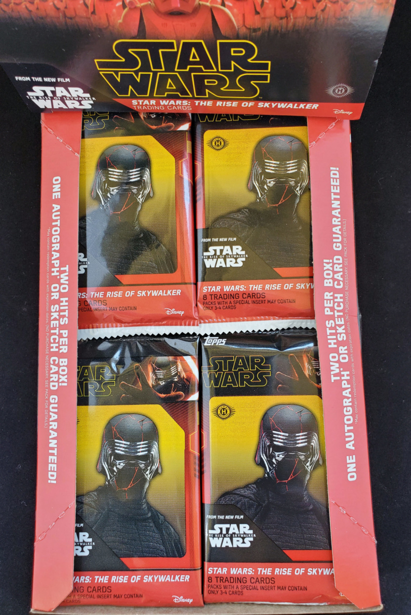 2019 Topps Authentic Star Wars Trading Cards box