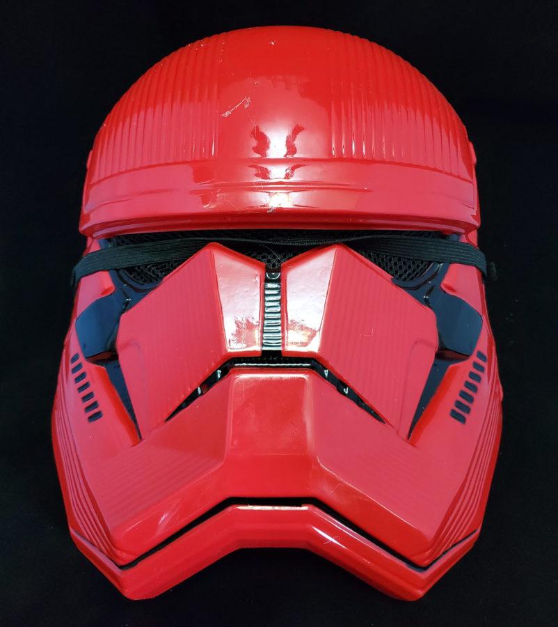Star Wars: The Rise of Skywalker Sith Trooper Adult Half Mask side