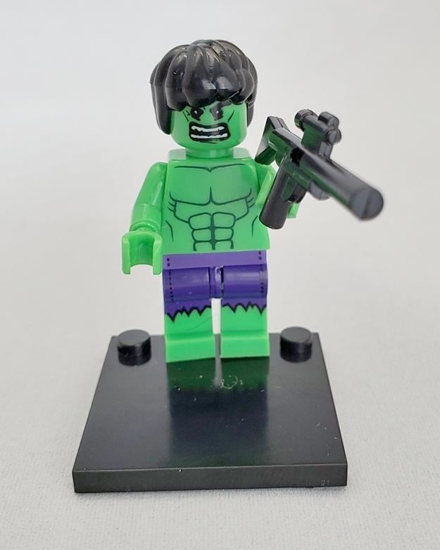 Marvel block figurines - Hulk