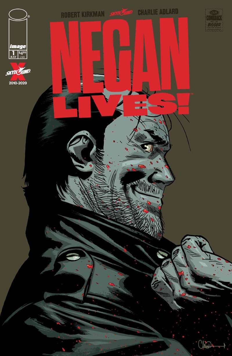 Image Comics Walking Dead Negan Lives Issue #1