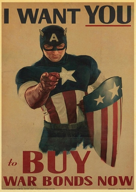 Marvel Comics Poster Captain America Wall Stickers Vintage Poster Prints High Quality For Bar And Home 22.jpg 640x640 22