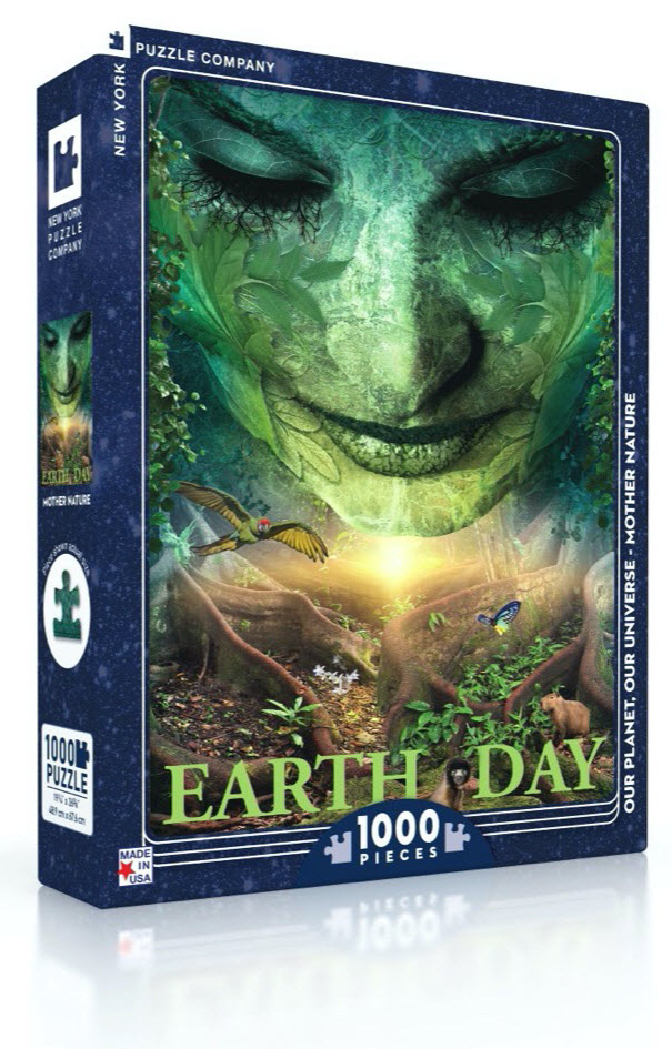 Mother Nature Puzzle - 1000 piece Mother Nature jigsaw puzzle box