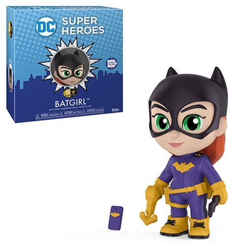 DC Super Heroes Five-Star Vinyl Figure - Classic Batgirl Figure