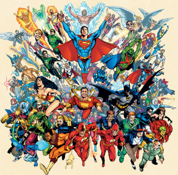 DC Universe comic book characters