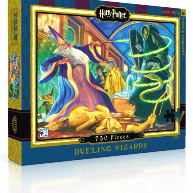 Harry Potter Jigsaw Puzzle - Top-Seller 750 piece Dueling Wizards Jigsaw Puzzle