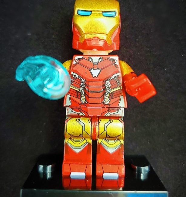 Iron Man block figurine - Lego compatible