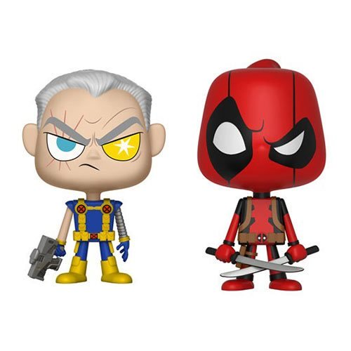 Marvel Deadpool and Cable Figures 2-Pack