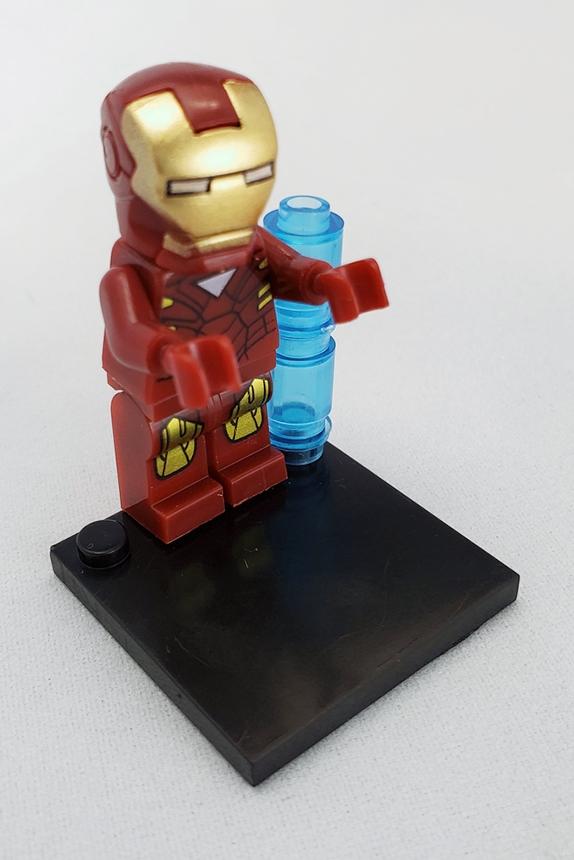 Marvel block figurines - Iron Man