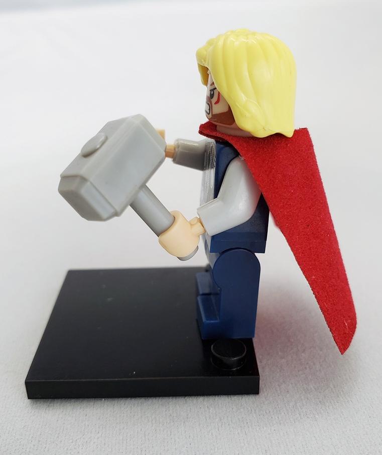 Marvel block figurines - Thor