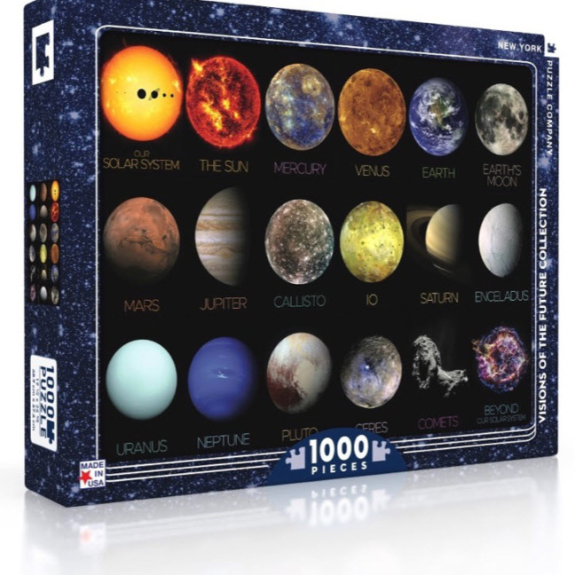 Solar System Puzzle - 1000 piece Solar System Jigsaw Puzzle box