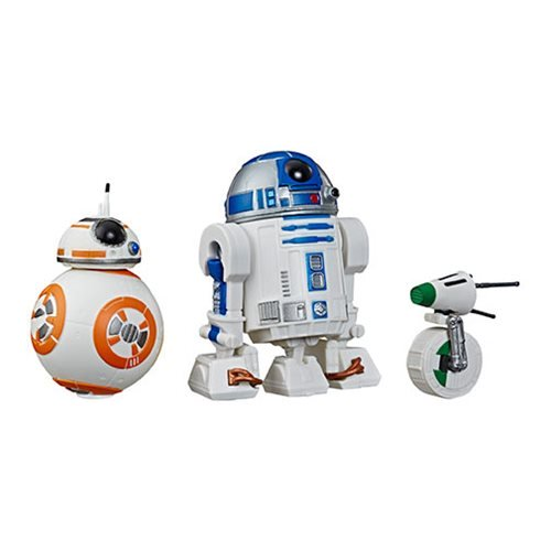 Star Wars Action Figures: The Rise of Skywalker R2-D2, BB-8, D-O Action Figures