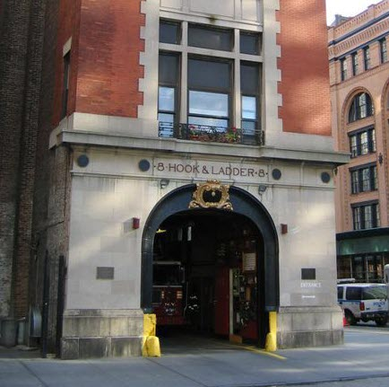 Popular New York City filming location (fire station)