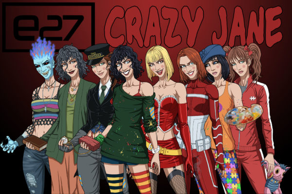 Doom Patrol Crazy Jane Personalities - A complete list of all of Crazy Jane's 64 personalities.