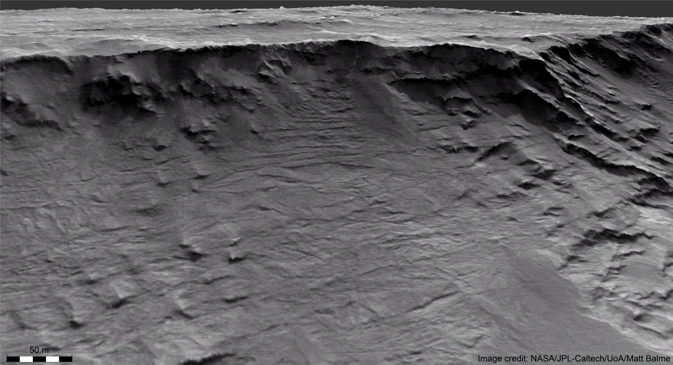 Ancient Mars river in unprecedented detail