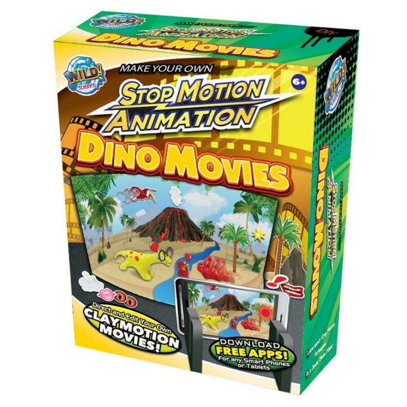 Dinosaur Stop Animation Motion Kit