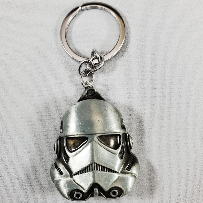 airbrush 20200701173642stormtrooper keychain solid pewter metal star wars keychain